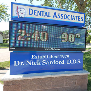 Dental Associates Sign